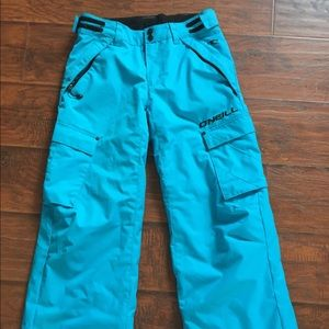 O'neill snowboard pants size med